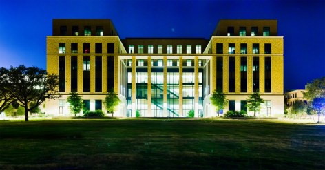 168MP (158 component images) of the Liberal Arts building on the campus of Texas A&M University.